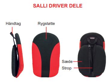 Salli driverens funktioner og specifikationer